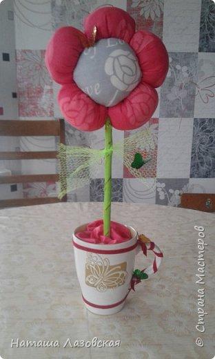 Вот такой цветочек у меня получился. Делала по МК http://stranamasterov.ru/node/517075 . Спасибо автору. фото 1