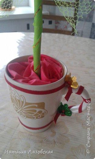 Вот такой цветочек у меня получился. Делала по МК http://stranamasterov.ru/node/517075 . Спасибо автору. фото 3