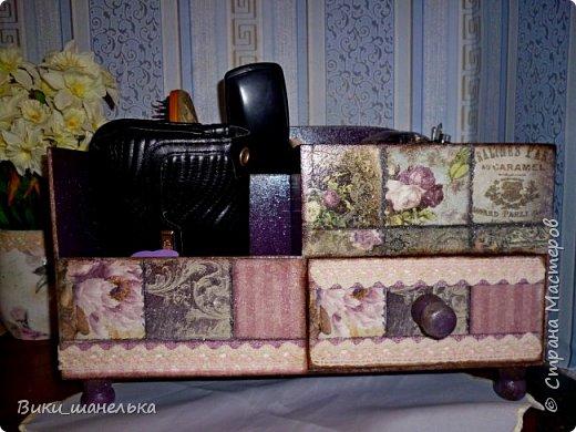 "Мини-комодик ""Орхидеи"" фото 3"