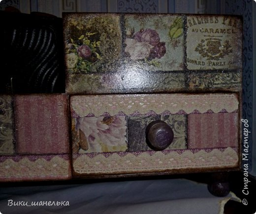 "Мини-комодик ""Орхидеи"" фото 4"