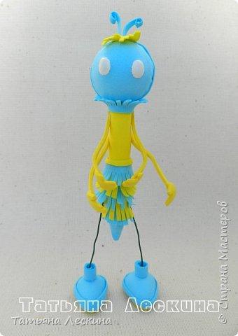 Всем гостям- доброго времени суток! Представляю вашему вниманию мою новую куколку-бабочку, которую сделала в подарок на 8 марта.  фото 2