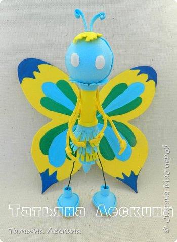 Всем гостям- доброго времени суток! Представляю вашему вниманию мою новую куколку-бабочку, которую сделала в подарок на 8 марта.  фото 3