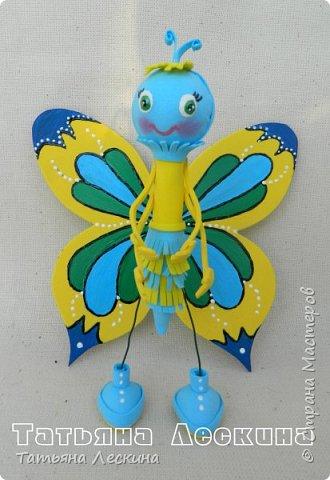 Всем гостям- доброго времени суток! Представляю вашему вниманию мою новую куколку-бабочку, которую сделала в подарок на 8 марта.  фото 4