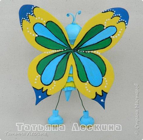 Всем гостям- доброго времени суток! Представляю вашему вниманию мою новую куколку-бабочку, которую сделала в подарок на 8 марта.  фото 6