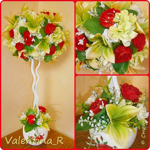 Вот и наступила весна, пока только календарная. Топиарий посвящён Весне и весеннему настроению!!! Нежная зелень и яркие весенние цветы напомнят о прекрасном времени года, полном надежд и ожиданий всего только хорошего!!! фото 1