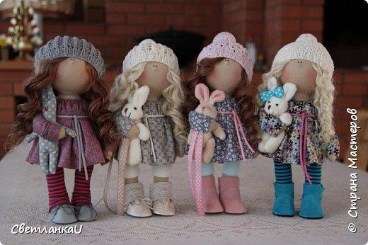 Интерьерные куклы, рост 26 см, март 2016г фото 1