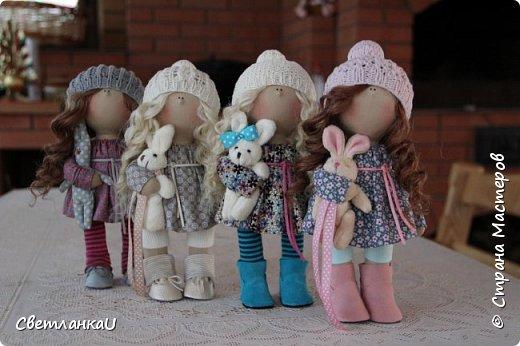 Интерьерные куклы, рост 26 см, март 2016г фото 2