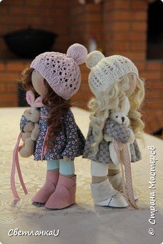 Интерьерные куклы, рост 26 см, март 2016г фото 8