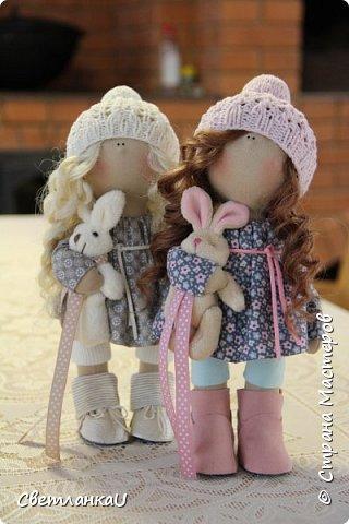 Интерьерные куклы, рост 26 см, март 2016г фото 7