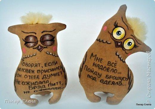 Котята-ветераны и совушки (по мотивам работ Надежды Колотьевой) фото 19
