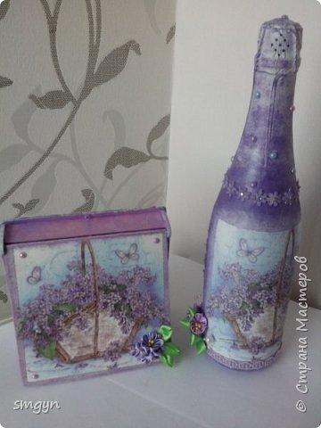 Всем доброго времени суток. Спасибо, что заглянули. Вот делюсь своими подарочными бутылочками. Начнем с Нового года... фото 14