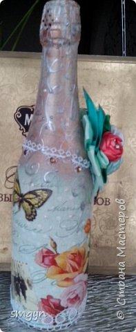 Всем доброго времени суток. Спасибо, что заглянули. Вот делюсь своими подарочными бутылочками. Начнем с Нового года... фото 12