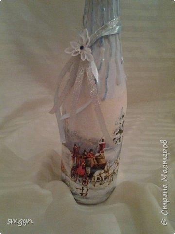 Всем доброго времени суток. Спасибо, что заглянули. Вот делюсь своими подарочными бутылочками. Начнем с Нового года... фото 5