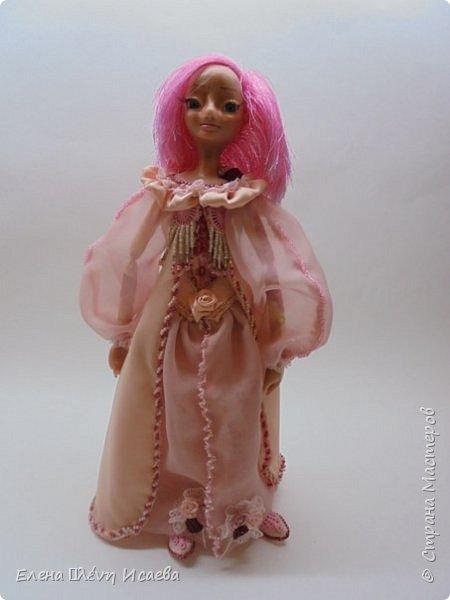 """Здравствуйте,Дорогие соседи!!! Хочу показать вам еще одну девочку.Родилась она в один день с Мариеттой(""""вылепилась""""))) Делала ее специально для одного хорошего человека и прекрасного Мастера-кукольника Виктории  http://stranamasterov.ru/user/320448 Она хотела феечку.Вот такая феечка для нее и родилась! фото 11"""