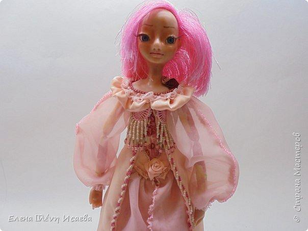 """Здравствуйте,Дорогие соседи!!! Хочу показать вам еще одну девочку.Родилась она в один день с Мариеттой(""""вылепилась""""))) Делала ее специально для одного хорошего человека и прекрасного Мастера-кукольника Виктории  http://stranamasterov.ru/user/320448 Она хотела феечку.Вот такая феечка для нее и родилась! фото 14"""