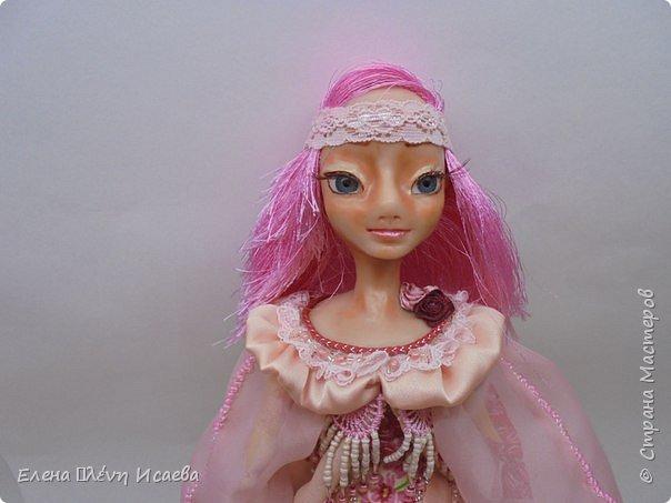 """Здравствуйте,Дорогие соседи!!! Хочу показать вам еще одну девочку.Родилась она в один день с Мариеттой(""""вылепилась""""))) Делала ее специально для одного хорошего человека и прекрасного Мастера-кукольника Виктории  http://stranamasterov.ru/user/320448 Она хотела феечку.Вот такая феечка для нее и родилась! фото 1"""
