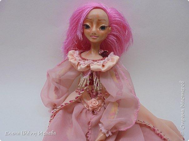 """Здравствуйте,Дорогие соседи!!! Хочу показать вам еще одну девочку.Родилась она в один день с Мариеттой(""""вылепилась""""))) Делала ее специально для одного хорошего человека и прекрасного Мастера-кукольника Виктории  http://stranamasterov.ru/user/320448 Она хотела феечку.Вот такая феечка для нее и родилась! фото 2"""