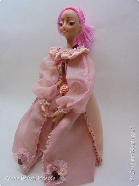 """Здравствуйте,Дорогие соседи!!! Хочу показать вам еще одну девочку.Родилась она в один день с Мариеттой(""""вылепилась""""))) Делала ее специально для одного хорошего человека и прекрасного Мастера-кукольника Виктории  http://stranamasterov.ru/user/320448 Она хотела феечку.Вот такая феечка для нее и родилась! фото 3"""