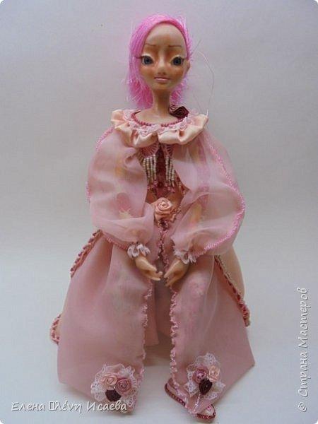 """Здравствуйте,Дорогие соседи!!! Хочу показать вам еще одну девочку.Родилась она в один день с Мариеттой(""""вылепилась""""))) Делала ее специально для одного хорошего человека и прекрасного Мастера-кукольника Виктории  http://stranamasterov.ru/user/320448 Она хотела феечку.Вот такая феечка для нее и родилась! фото 4"""