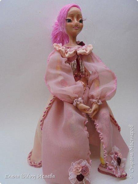 """Здравствуйте,Дорогие соседи!!! Хочу показать вам еще одну девочку.Родилась она в один день с Мариеттой(""""вылепилась""""))) Делала ее специально для одного хорошего человека и прекрасного Мастера-кукольника Виктории  http://stranamasterov.ru/user/320448 Она хотела феечку.Вот такая феечка для нее и родилась! фото 5"""