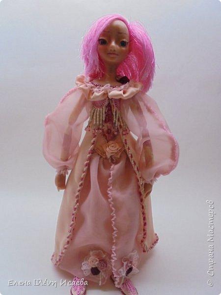 """Здравствуйте,Дорогие соседи!!! Хочу показать вам еще одну девочку.Родилась она в один день с Мариеттой(""""вылепилась""""))) Делала ее специально для одного хорошего человека и прекрасного Мастера-кукольника Виктории  http://stranamasterov.ru/user/320448 Она хотела феечку.Вот такая феечка для нее и родилась! фото 6"""