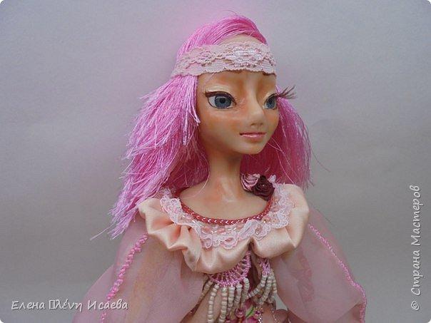 """Здравствуйте,Дорогие соседи!!! Хочу показать вам еще одну девочку.Родилась она в один день с Мариеттой(""""вылепилась""""))) Делала ее специально для одного хорошего человека и прекрасного Мастера-кукольника Виктории  http://stranamasterov.ru/user/320448 Она хотела феечку.Вот такая феечка для нее и родилась! фото 7"""