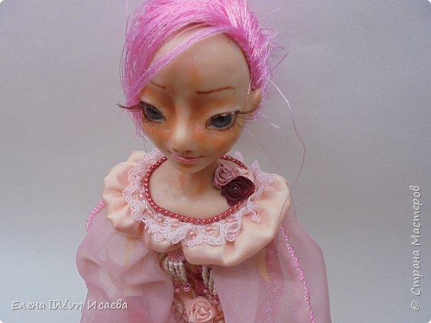 """Здравствуйте,Дорогие соседи!!! Хочу показать вам еще одну девочку.Родилась она в один день с Мариеттой(""""вылепилась""""))) Делала ее специально для одного хорошего человека и прекрасного Мастера-кукольника Виктории  http://stranamasterov.ru/user/320448 Она хотела феечку.Вот такая феечка для нее и родилась! фото 8"""