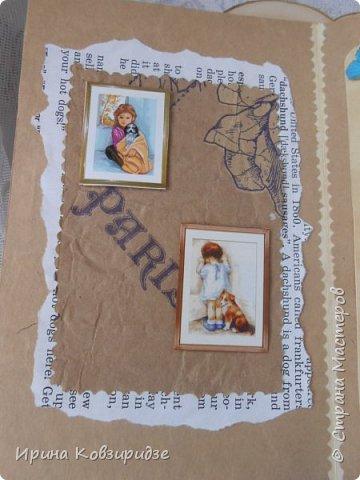 """Представляю очередные работы из серии """"Собаки"""". Это """"Дамы, лошади, собаки"""" Сделано по тому же принципу, что и Мастер-класс по открытке """"Собаки""""(у меня) http://stranamasterov.ru/node/1009036 фото 9"""