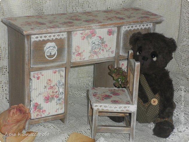 """Шкатулка мини-комод """"Карамель"""". фото 2"""