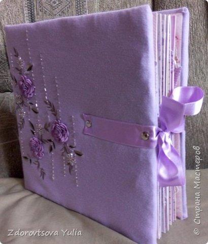 Мой первый альбом для любимой племянницы-крестницы в подарок. начну с коробочка. Сразу извините за  качество фото, сделала на мобильный) фото 5