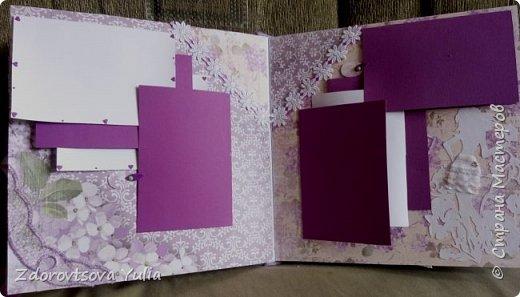 Мой первый альбом для любимой племянницы-крестницы в подарок. начну с коробочка. Сразу извините за  качество фото, сделала на мобильный) фото 11