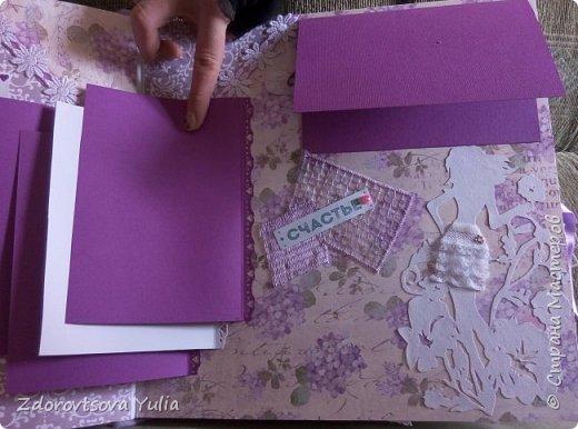 Мой первый альбом для любимой племянницы-крестницы в подарок. начну с коробочка. Сразу извините за  качество фото, сделала на мобильный) фото 13