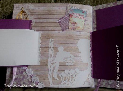 Мой первый альбом для любимой племянницы-крестницы в подарок. начну с коробочка. Сразу извините за  качество фото, сделала на мобильный) фото 14