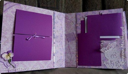 Мой первый альбом для любимой племянницы-крестницы в подарок. начну с коробочка. Сразу извините за  качество фото, сделала на мобильный) фото 17