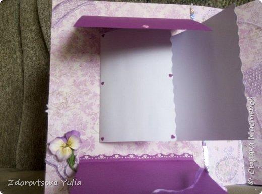 Мой первый альбом для любимой племянницы-крестницы в подарок. начну с коробочка. Сразу извините за  качество фото, сделала на мобильный) фото 19