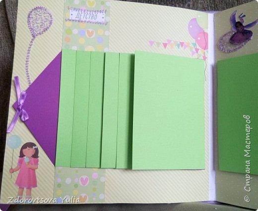 Мой первый альбом для любимой племянницы-крестницы в подарок. начну с коробочка. Сразу извините за  качество фото, сделала на мобильный) фото 21
