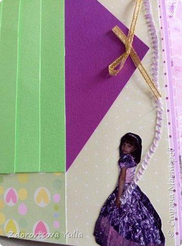 Мой первый альбом для любимой племянницы-крестницы в подарок. начну с коробочка. Сразу извините за  качество фото, сделала на мобильный) фото 23