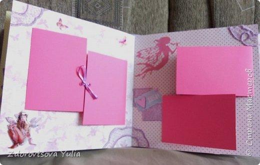 Мой первый альбом для любимой племянницы-крестницы в подарок. начну с коробочка. Сразу извините за  качество фото, сделала на мобильный) фото 25