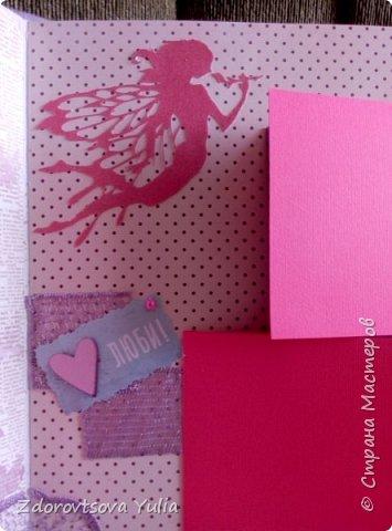 Мой первый альбом для любимой племянницы-крестницы в подарок. начну с коробочка. Сразу извините за  качество фото, сделала на мобильный) фото 26