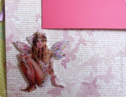 Мой первый альбом для любимой племянницы-крестницы в подарок. начну с коробочка. Сразу извините за  качество фото, сделала на мобильный) фото 27