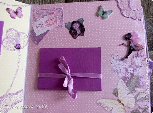 Мой первый альбом для любимой племянницы-крестницы в подарок. начну с коробочка. Сразу извините за  качество фото, сделала на мобильный) фото 32