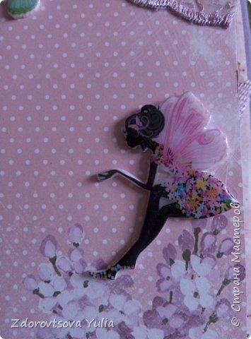 Мой первый альбом для любимой племянницы-крестницы в подарок. начну с коробочка. Сразу извините за  качество фото, сделала на мобильный) фото 34