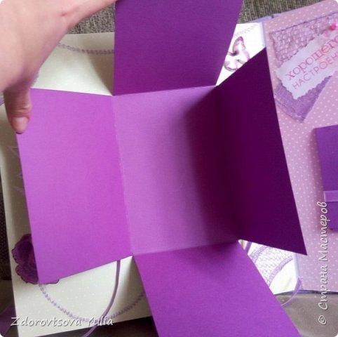 Мой первый альбом для любимой племянницы-крестницы в подарок. начну с коробочка. Сразу извините за  качество фото, сделала на мобильный) фото 36