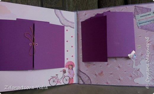 Мой первый альбом для любимой племянницы-крестницы в подарок. начну с коробочка. Сразу извините за  качество фото, сделала на мобильный) фото 38