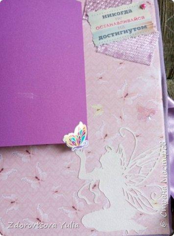 Мой первый альбом для любимой племянницы-крестницы в подарок. начну с коробочка. Сразу извините за  качество фото, сделала на мобильный) фото 39