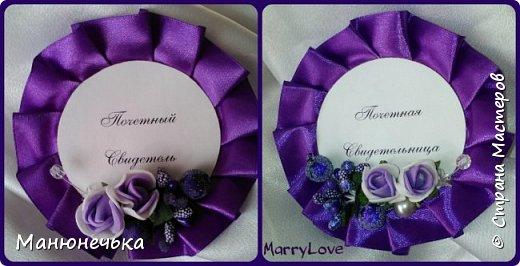 Набор аксессуаров в Фиолетовом цвете фото 8