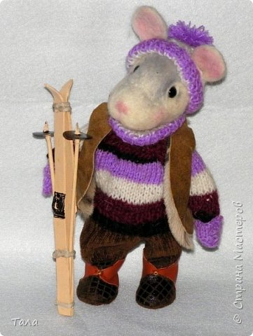 Мышь-лыжница. фото 1