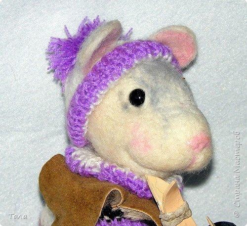 Мышь-лыжница. фото 2
