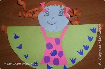 Вот такие блинные куклы сделали мои первоклассники. Идею подсмотрела у Новиковой Л. А. на MAAM.Ru фото 2