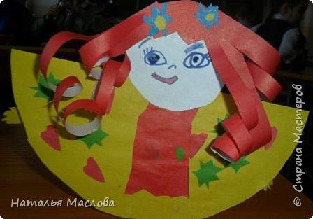 Вот такие блинные куклы сделали мои первоклассники. Идею подсмотрела у Новиковой Л. А. на MAAM.Ru фото 3
